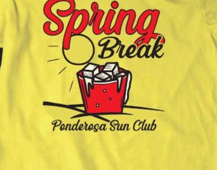 Spring Break T shirts available now!!