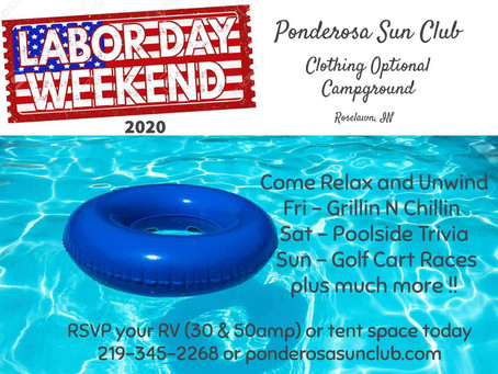 Labor Day Weekend !!