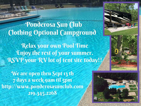 Ponderosa Sun Club is so excited to be taking rsvp now!!