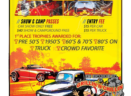 July 25th  2nd Annual Car Show