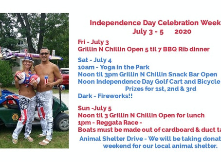 Kickin off summer with 4th of July Celebration!!