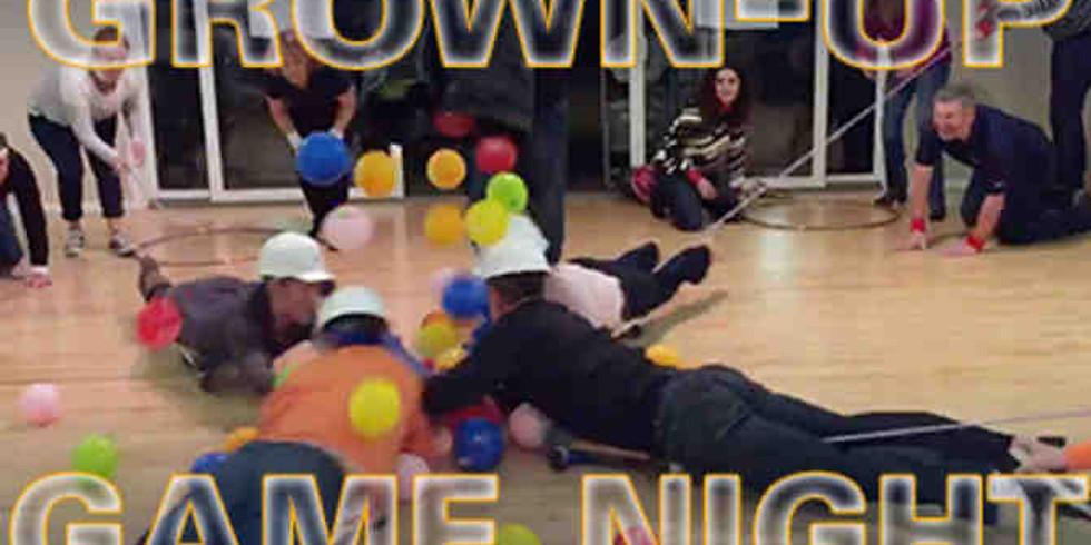 Grown-Up Game Night