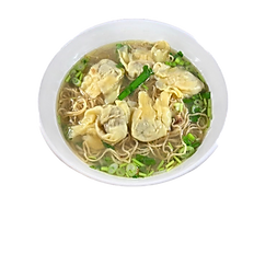 27. WONTON EGG NOODLE SOUP (chicken broth) 6 PCS