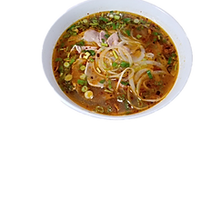 30. SATE BEEF RICE NOODLE SOUP (beef broth) (spicy)