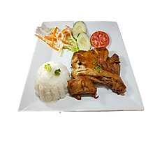 67. GRILLED CHICKEN THIGH WITH RICE