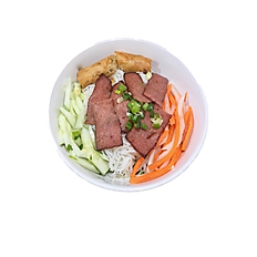 37. GRILLED GROUND PORK & FRIED EGGROLL VERMICELLI