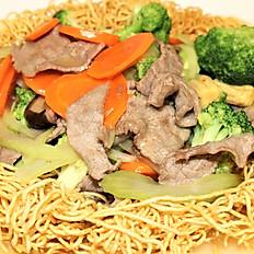 58b.  Beef fried egg noodle (crispy)