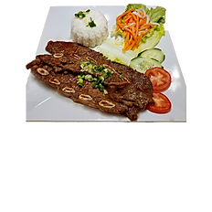 66. GRILLED BEEF SHORT RIBS WITH RICE