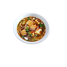 95. SPICY VEGETERIAN HUE STYLE RICE NOODLE SOUP