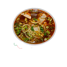 44. HUE STYLE BEEF RICE NOODLE SOUP.(Spicy)