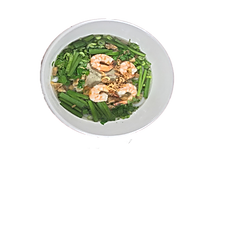 42. SHRIMP & PORK UDON NOODLE SOUP