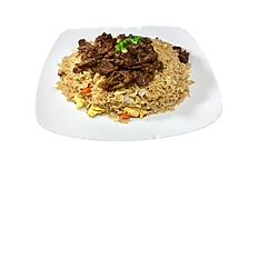 78. GRILLED PORK FRIED RICE