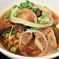 62B.  Vietnamese roasted duck soup w/ egg noodle