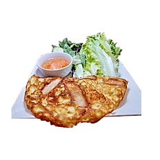 55. VIETNAMESE SHRIMP & PORK BELLY CRISPY PANCAKE