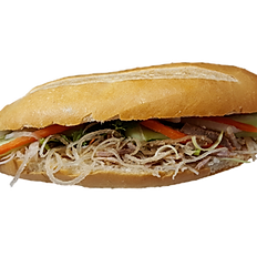 84. SHREDDED PORK SKIN SANDWICH