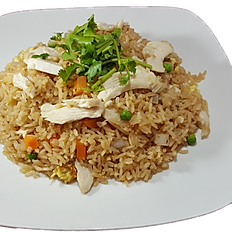 76. CHICKEN FRIED RICE