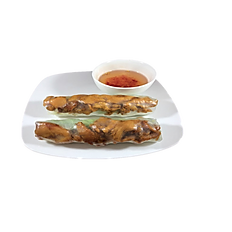 7. GRILLED CHICKEN FRESHROLLS.(Spicy)/2pcs