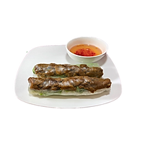 6. GRILLED PORK FRESHROLLS/2pcs