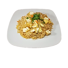96. VEGETARIAN FRIED RICE