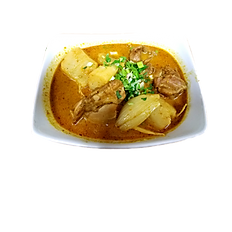51. CURRY CHICKEN WITH BREAD.(Spicy)