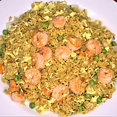 73.  Shrimp fried rice
