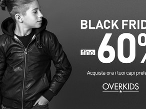 Il BLACK FRIDAY è qui!