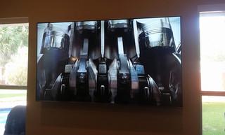 "82"" OLED TV Wall mounted Niceville, FL"