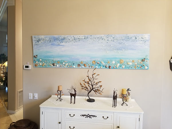 Shalimar Art hanging services by CTech LLC
