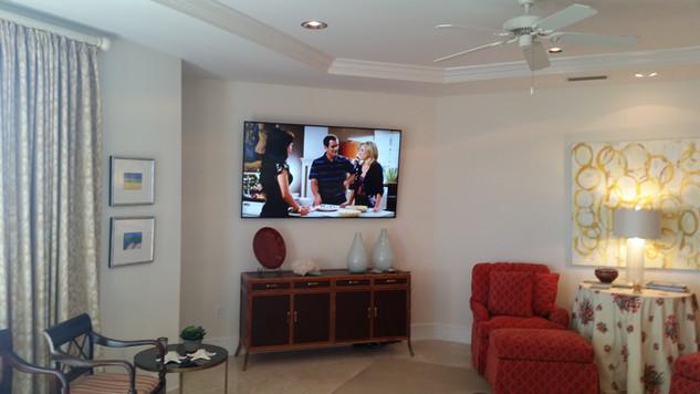 Mirimar Beach, FL TV Mount on metal studs