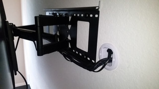 articulating wall mount, cable management Crestview