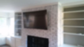 Destin Brick TV Install