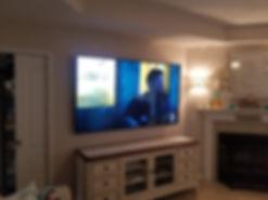 70 inch TV wall mounted Baker, FL