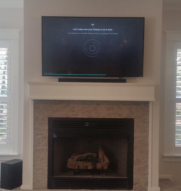 Santa Rosa Beach fireplace tv wall mount