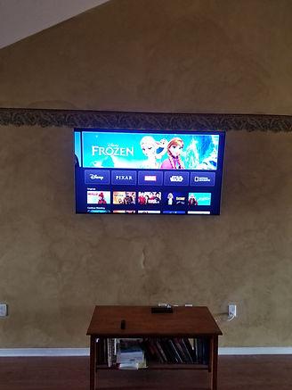 Crestview TV Mounted