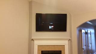 TV Above Fireplace Pace, FL
