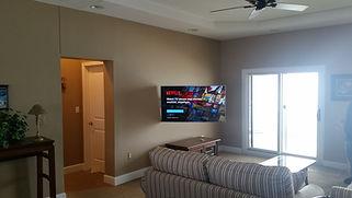 Baker, TV Wall Mount, Home Theater, TV Over Fireplace, Speaker Setup
