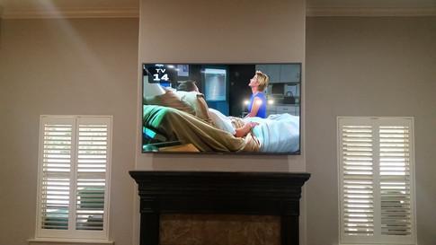 Crestview, FL TV over Fireplace