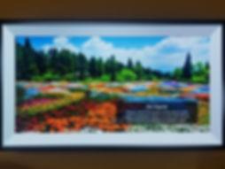 Samsung Frame TV Wall Mounted Inlet Beach