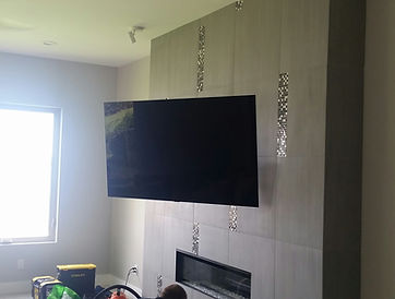 Destin Tile wall mounted TV