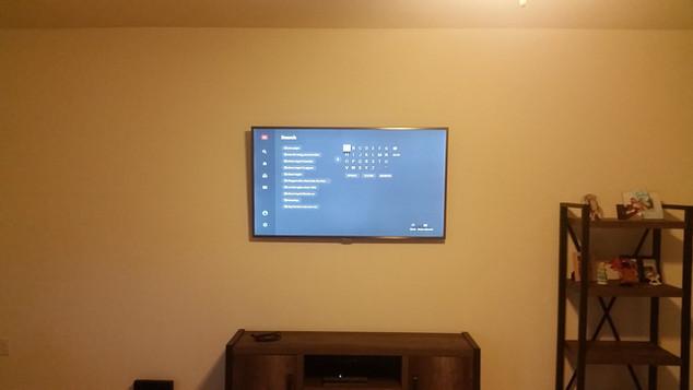 Crestview TV installation