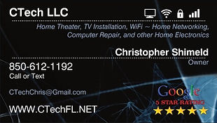 CTech LLC Home Theater and TV Mounting Services