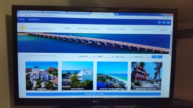Destin FL, Seacrest FL, Santa Rosa Beach FL, Grayton Beach FL, TV Wall Mount