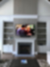 Defuniak Springs, TV Wall Mount, Soundbar, Fireplace