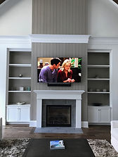 Defuniak Springs, TV Wall Mount, Soundbar, Fireplace