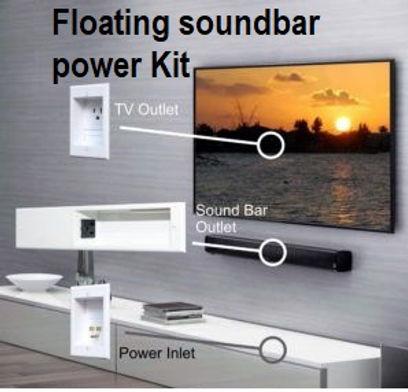 floating soundbar power kit