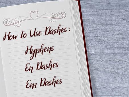 Punctuation Time! Dashing Dashes