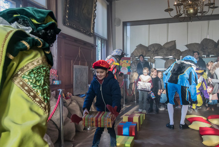 Kasteel van Sinterklaas Brugge - Interactieve rondleiding in het kasteel