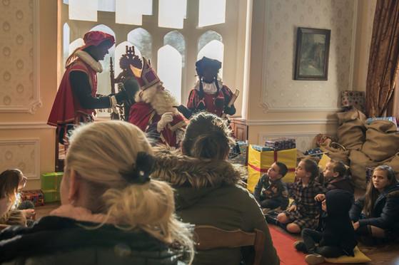 Kasteel van Sinterklaas Brugge - Meet & greet met Sinterklaas