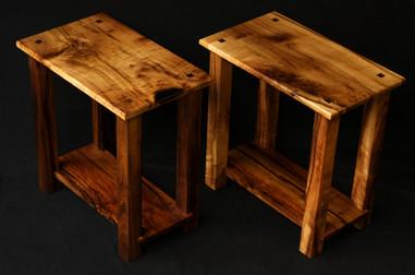 Matching Myrtlewood End Tables