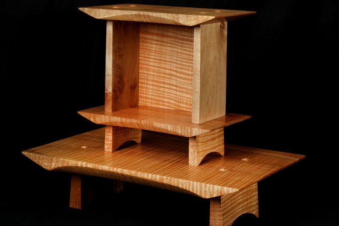 Fiddleback Maple Altar